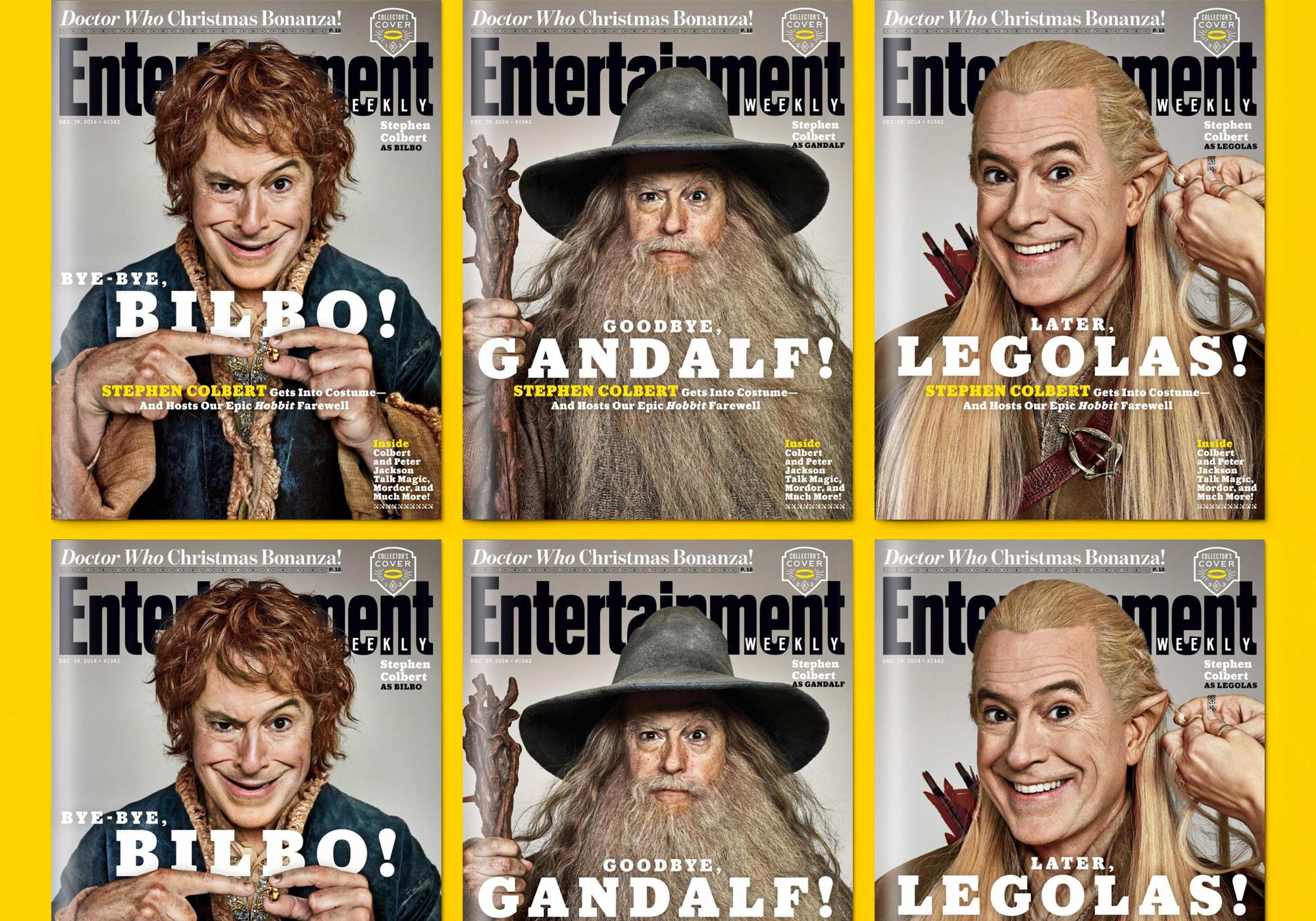 Entertainment Weekly Hobbit Covers